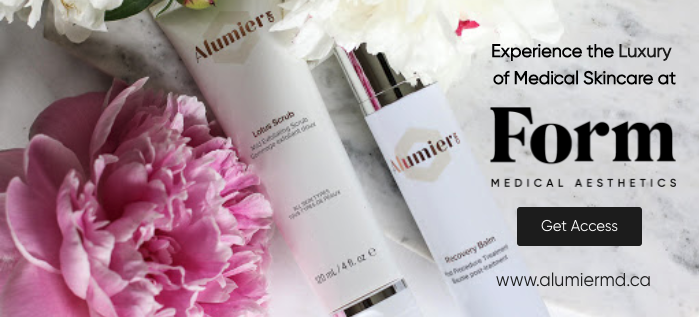 AlumierMD Skin Care Button Experience the Luxury of Skin Care Medicine at Form